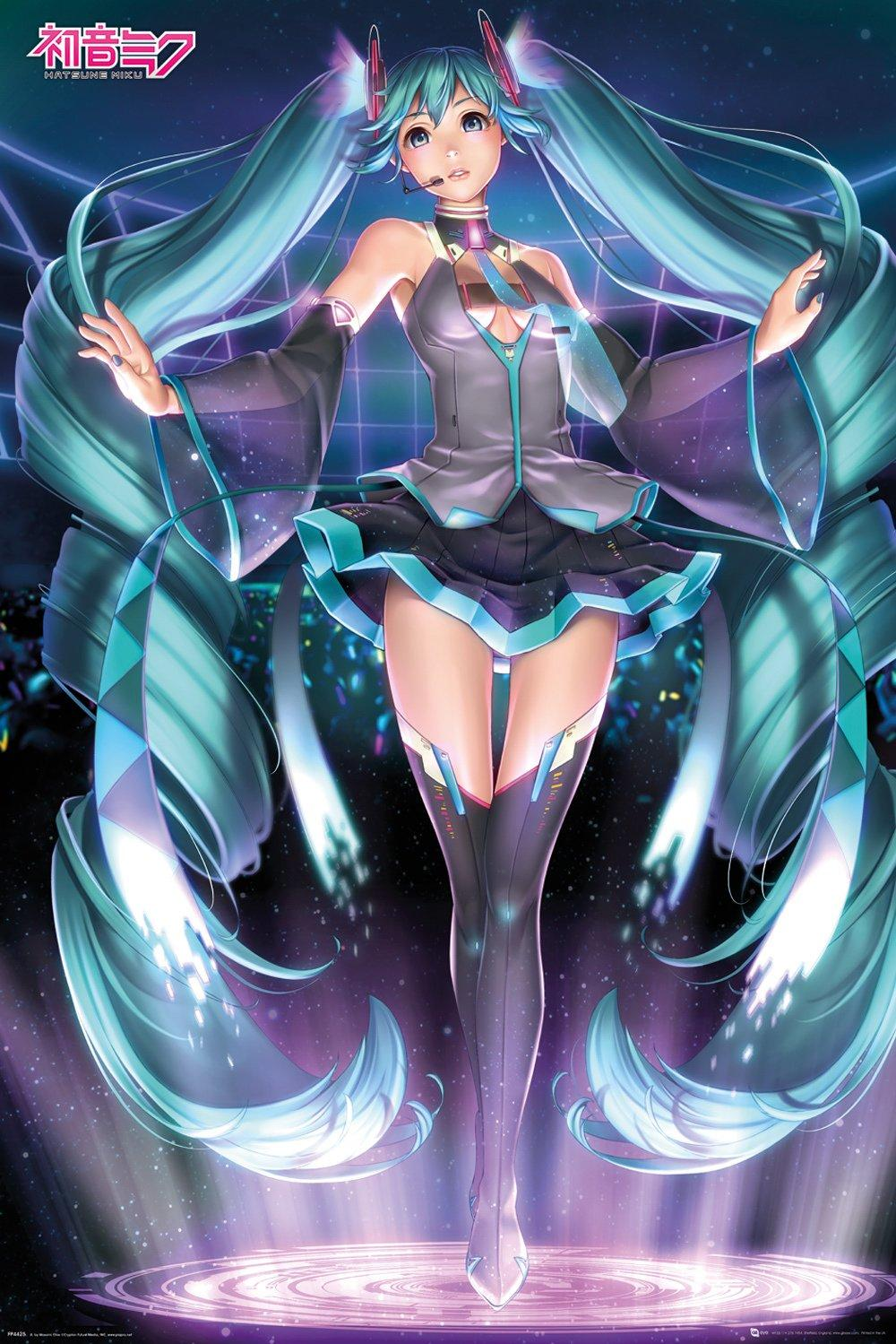 HATSUNE MIKU - Poster 61X91 - Projection