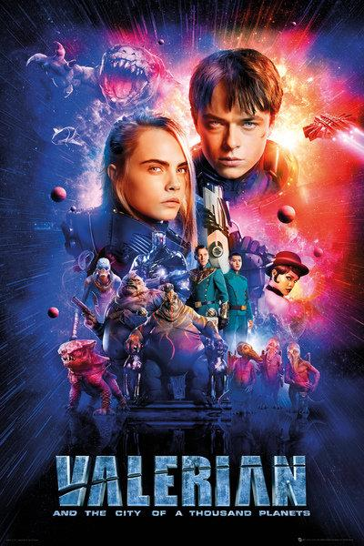VALERIAN - Poster 61X91 - One Sheet Cast