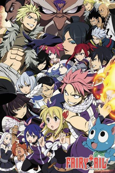 FAIRY TAIL - Poster 61X91 - Season 6