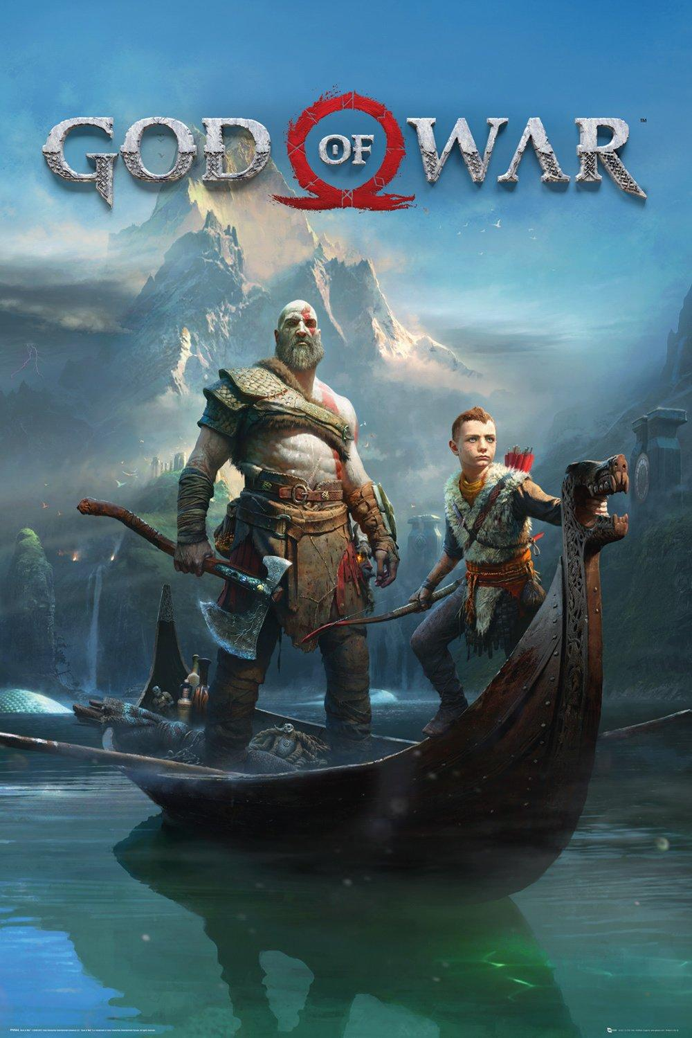 GOD OF WAR - Poster 61X91 - Key Art