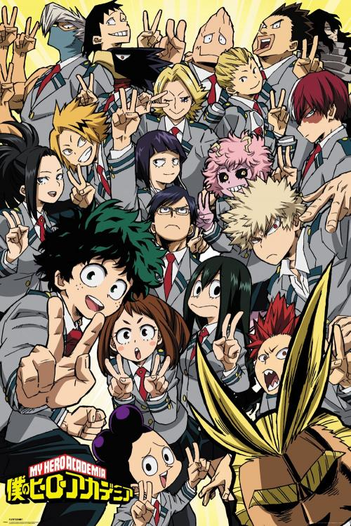 MY HERO ACADEMIA - School Compilation - Poster '61x91.5cm'