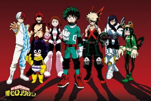 MY HERO ACADEMIA - Line Up - Poster '61x91.5cm'