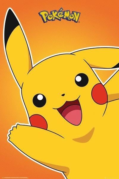 POKEMON - Poster 61X91 - Pikachu