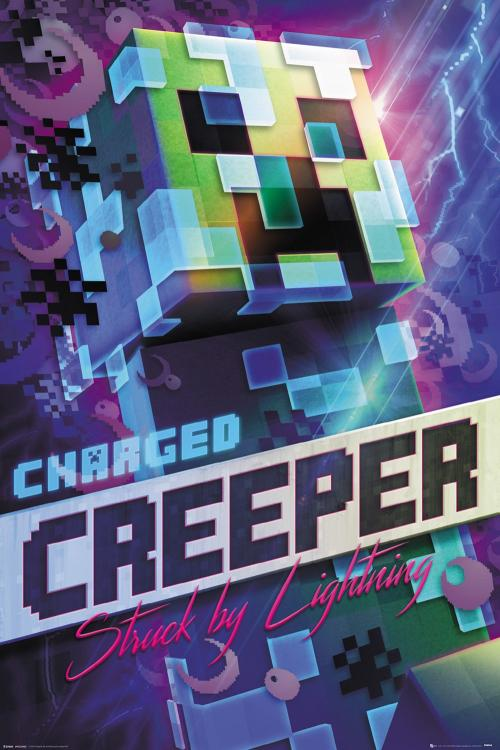 MINCEFRAT - Poster 61X91 - Charged Creeper