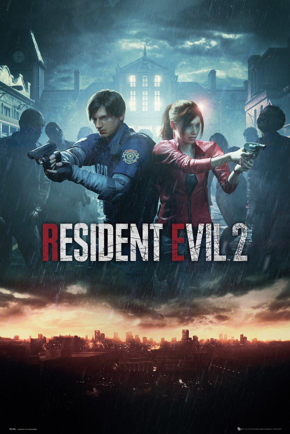 RESIDENT EVIL 2 - Poster 61X91 - City Key Art