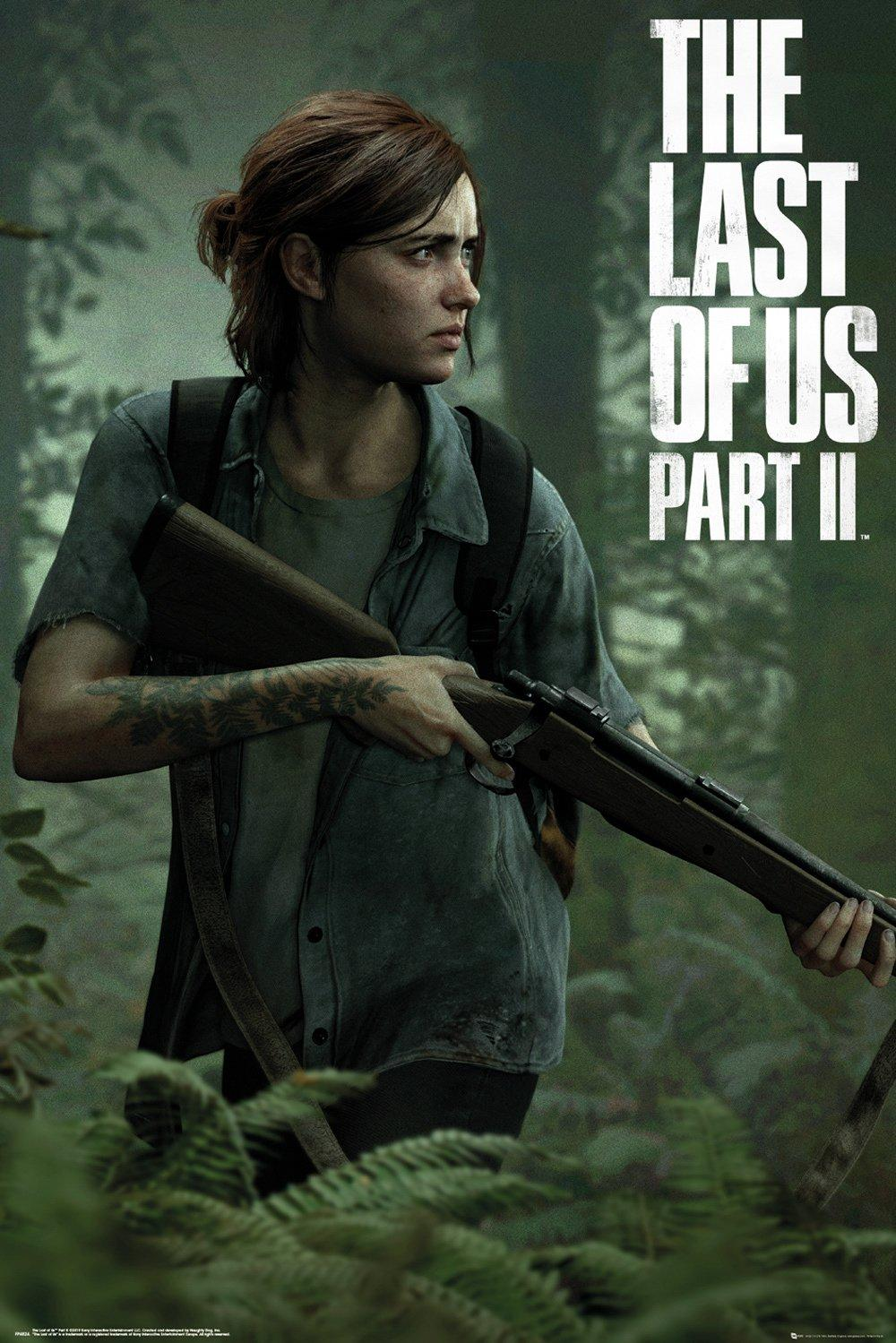 THE LAST OF US - Poster 61X91 - Part 2 - Ellie