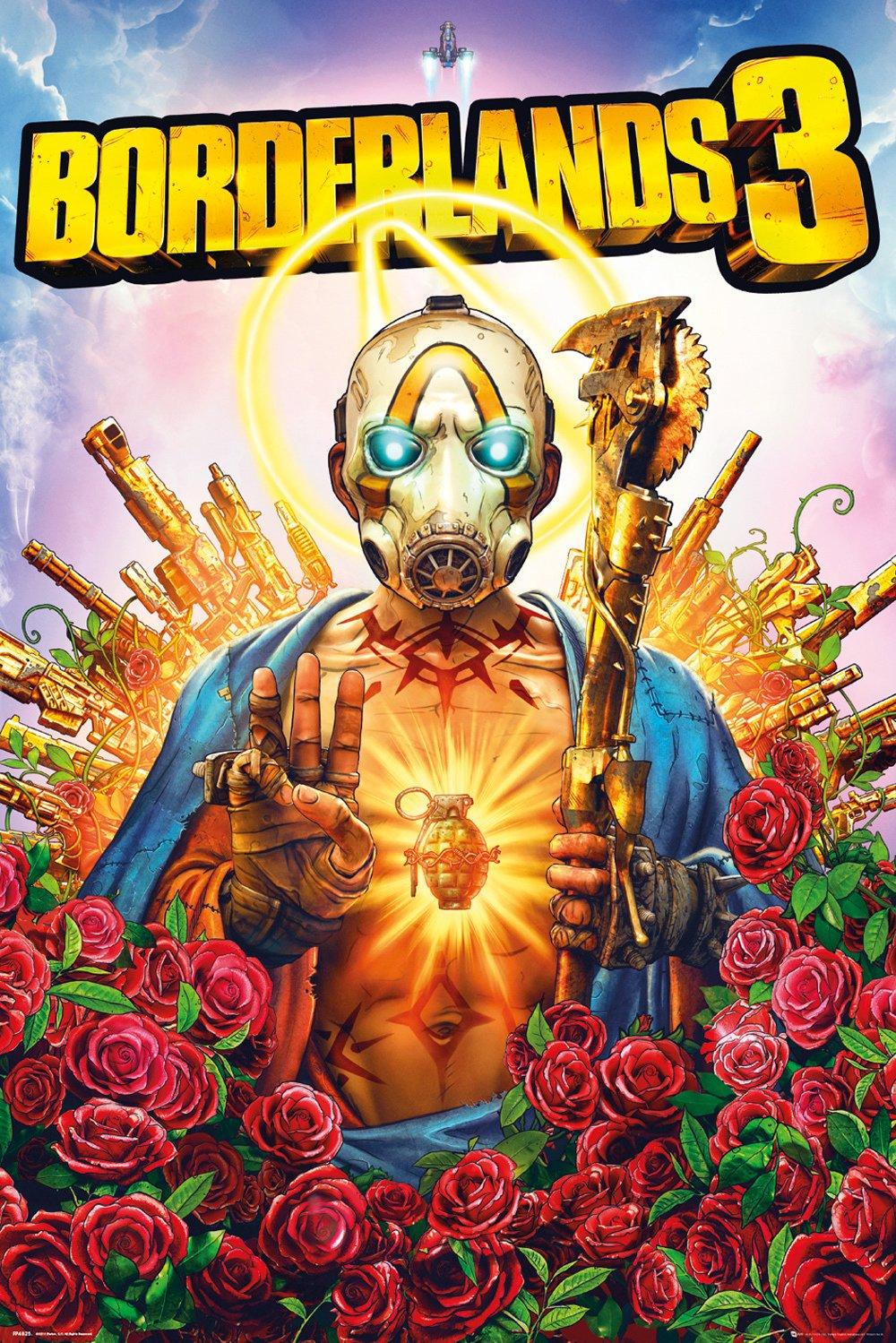 BORDERLANDS 3 - Poster 61X91 - Cover