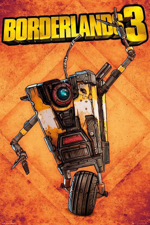 BORDERLANDS 3 - Poster 61X91 - Claptrap