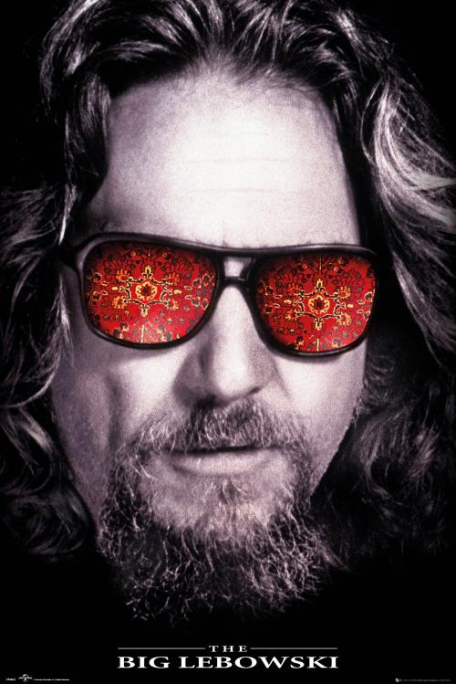 THE BIG LEBOWSKI - The Dude - Poster '61x91.5cm'