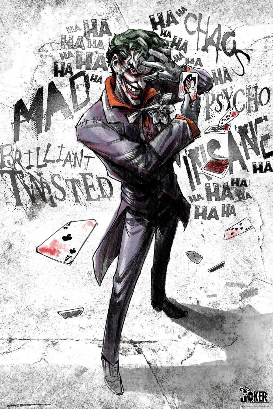 DC COMICS - Poster 61X91 - Joker Type_1