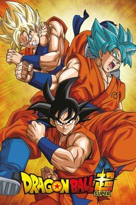DRAGON BALL SUPER - Poster 61X91 - Goku