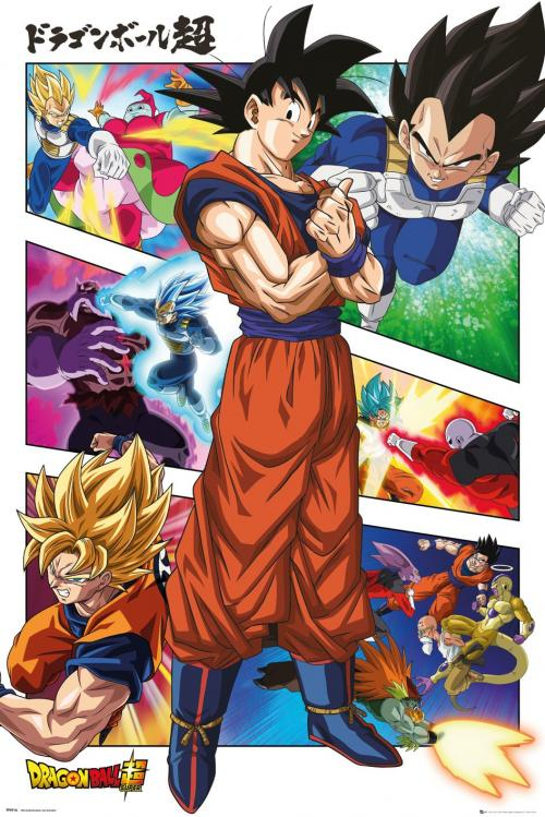 DRAGON BALL SUPER - Panels - Poster '61x91.5cm'
