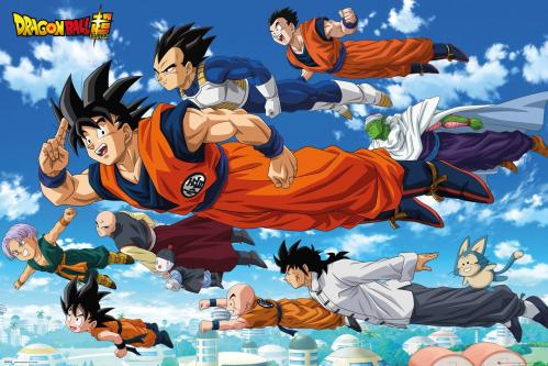 DRAGON BALL SUPER - Flying - Poster '61x91.5cm'