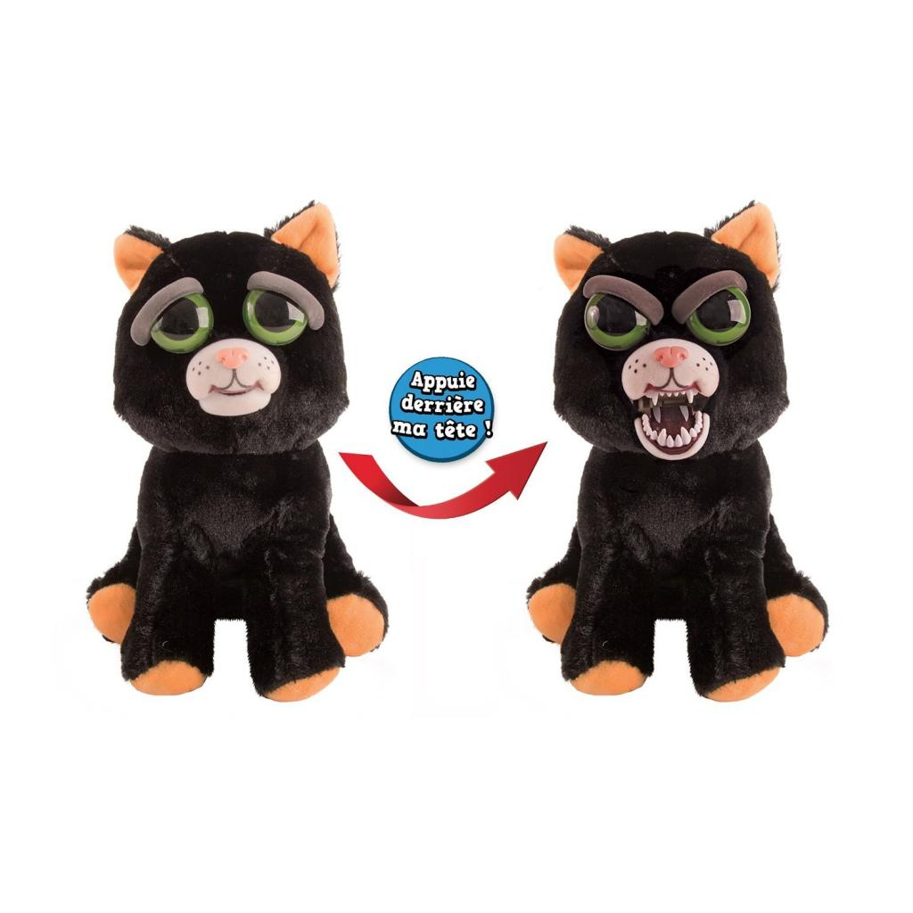 Feisty Pets - Peluche 20cm - Black Cat