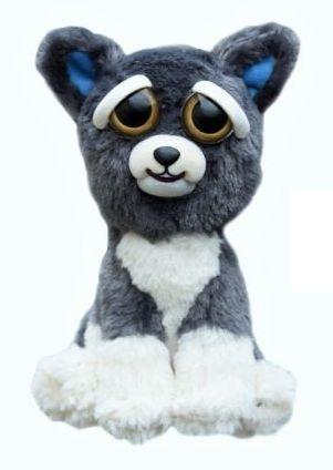 Feisty Pets - Peluche 20cm - Grey Dog