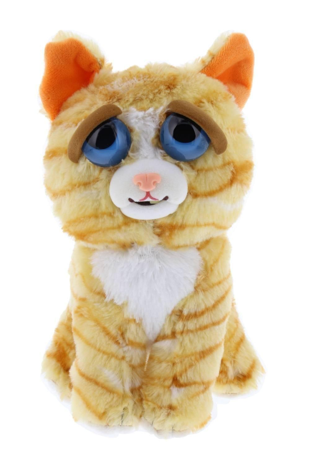 Feisty Pets - Peluche 20cm - Orange Cat