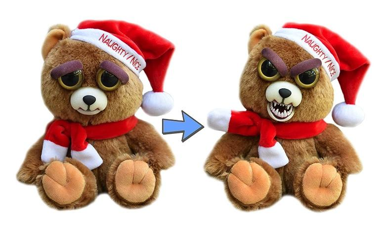 Feisty Pets - Peluche 20cm - Christmas Bear