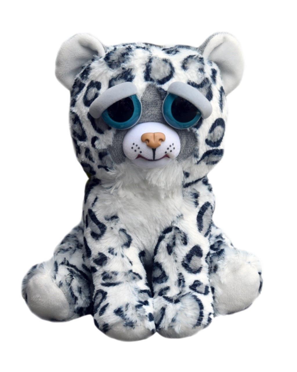 Feisty Pets - Peluche 20cm - Snow Leopard