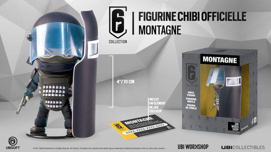SIX COLLECTION Serie 1 - Figurine Montagne Chibi (Officiel Ubisoft)