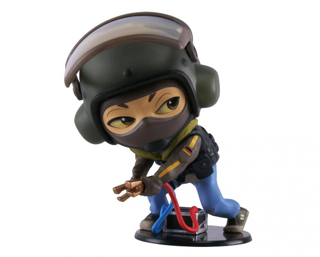 SIX COLLECTION Serie 3 - Figurine Bandit Chibi (Officiel Ubisoft)