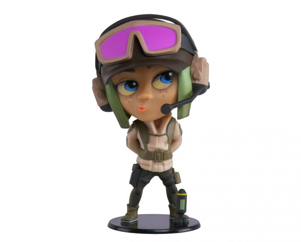 SIX COLLECTION Serie 3 - Figurine Ela Chibi (Officiel Ubisoft)