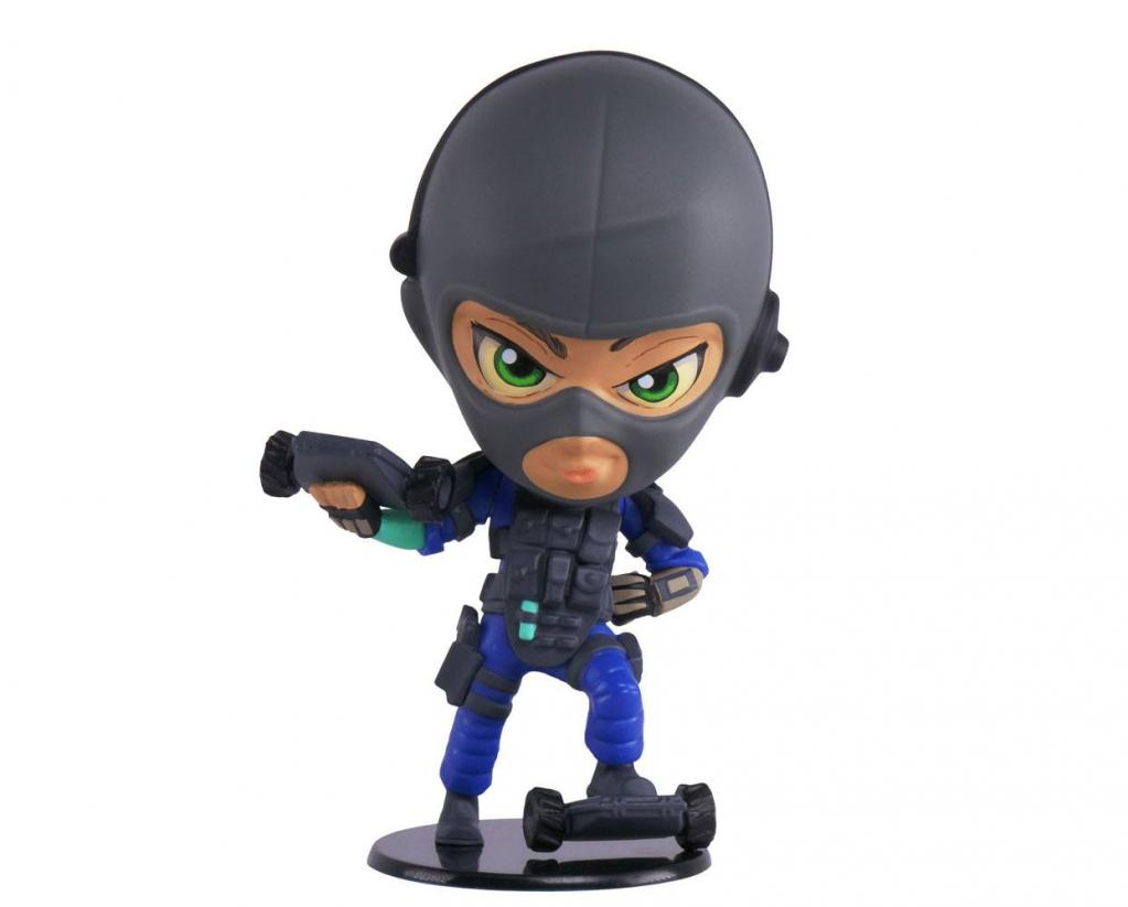 SIX COLLECTION Serie 3 - Figurine Twitch Chibi (Officiel Ubisoft)