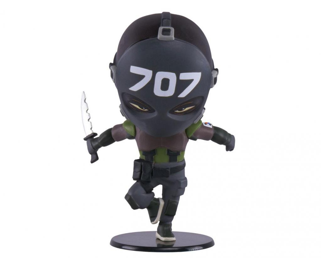 SIX COLLECTION Serie 3 - Figurine Vigil Chibi (Officiel Ubisoft)