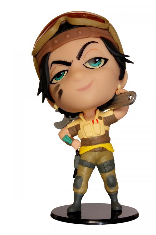SIX COLLECTION Series 5 - Figurine Gridlock Chibi (Officielle Ubisoft)