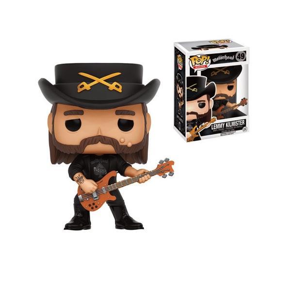 ROCK STARS - Bobble Head POP N° 49 - Lemmy Kilmister