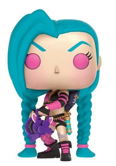 LEAGUE OF LEGENDS - Bobble Head POP N° 05 - Jinx_2
