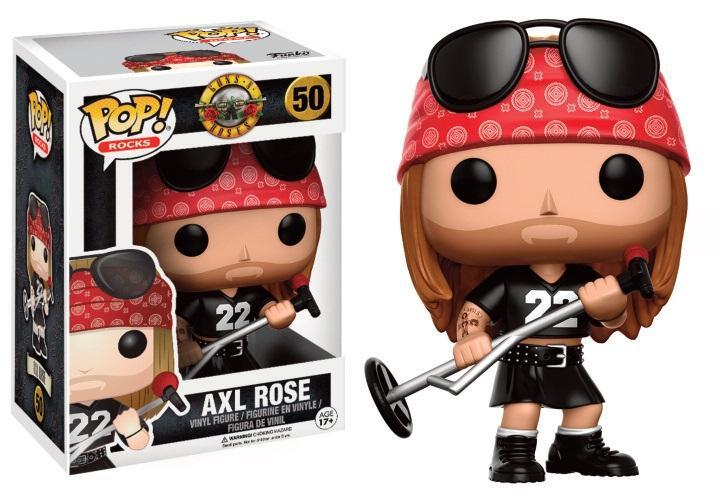 GUNS 'N' ROSES - Bobble Head POP N° 50 - Axl Rose