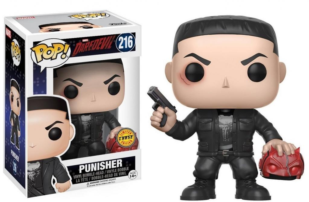 DAREDEVIL - Bobble Head POP N° 216 - Punisher CHASE EDITION