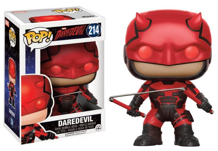 DAREDEVIL - Bobble Head POP N° 214 - Daredevil