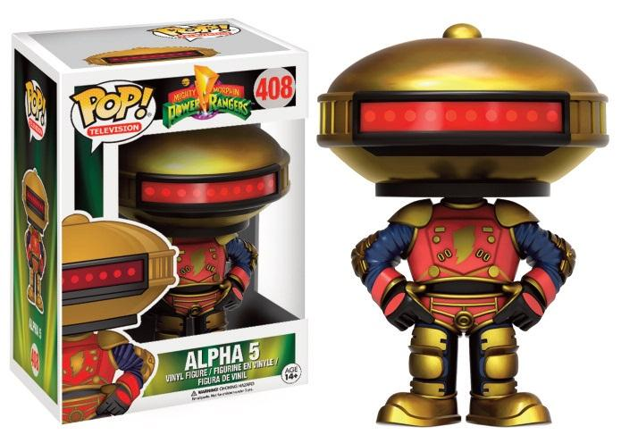 POWER RANGERS - Bobble Head POP N° 408 - Alpha 5 LIMITED