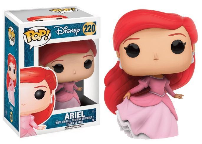 DISNEY - Bobble Head POP N° 220 - Ariel en robe de bal