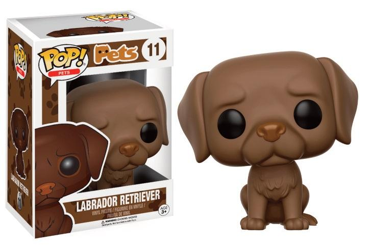 PETS DOGS - Bobble Head POP N° 11 - Labrador Retriver Chocolate