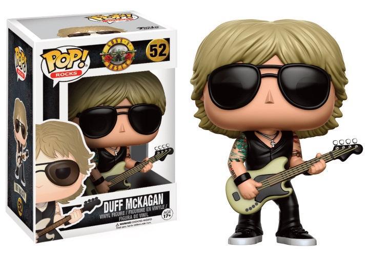 GUNS 'N' ROSES - Bobble Head POP N° 52 - Duff McKagan