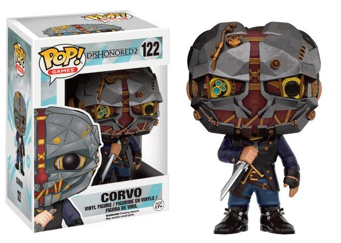 DISHONORED 2 - Bobble Head POP N° 122 - Corvo