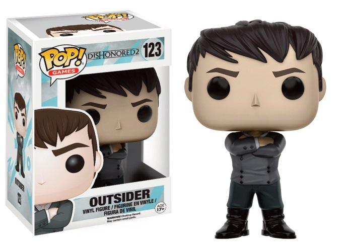 DISHONORED 2 - Bobble Head POP N° 122 - Outsider