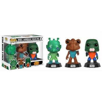 STAR WARS - Bobble Head POP 3-Pack - Greedo/Hammerhead/Valrus NYCC17
