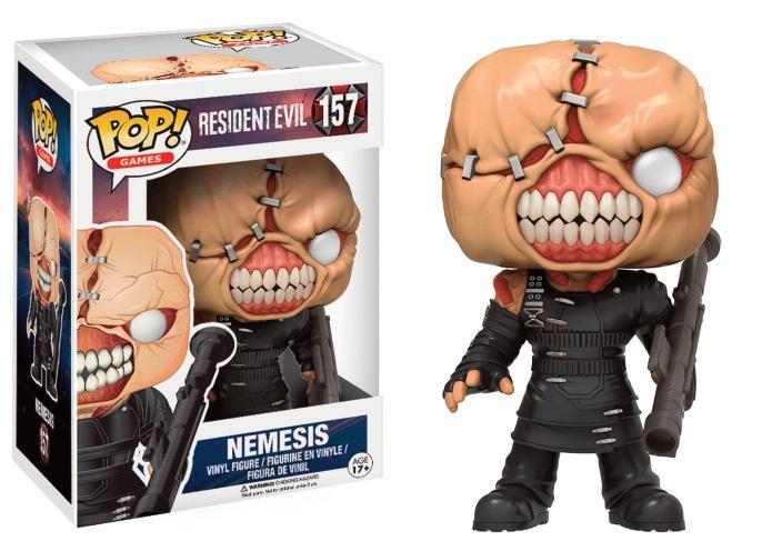 RESIDENT EVIL - Bobble Head POP N° 157 - Nemesis