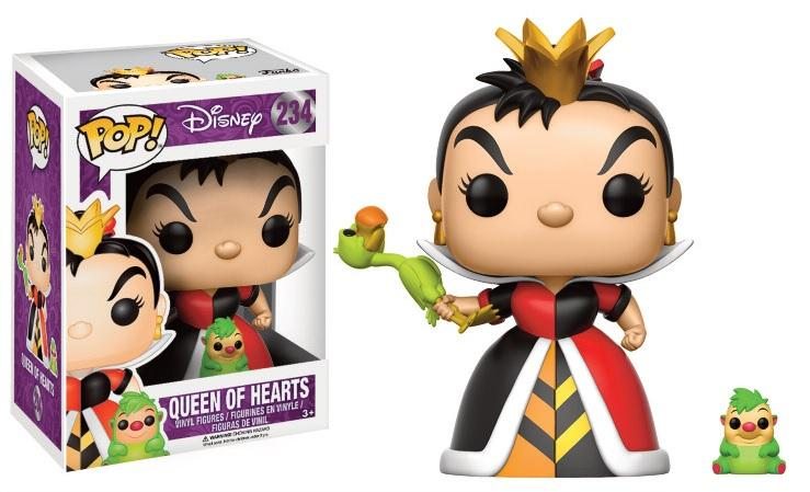DISNEY - Bobble Head POP N° 234 - Queen of Hearts LIMITED EDITION