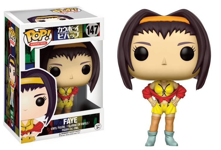 COWBOY BEBOP - Bobble Head POP N° 147 - Faye