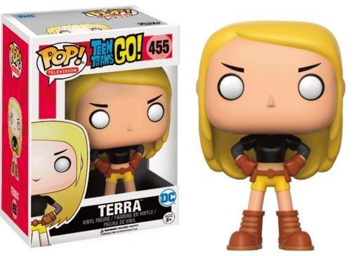 TEEN TITANS GO - Bobble Head POP N° 455 - Terra LIMITED EDITION