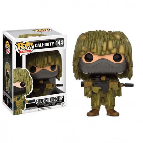 CALL OF DUTY - Bobble Head POP N° 144 - All Ghillied Up