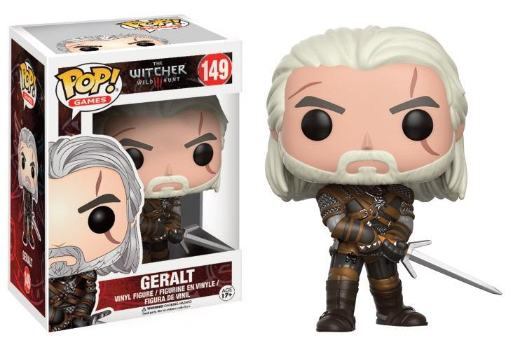 THE WITCHER III - Bobble Head POP N° 149 - Geralt
