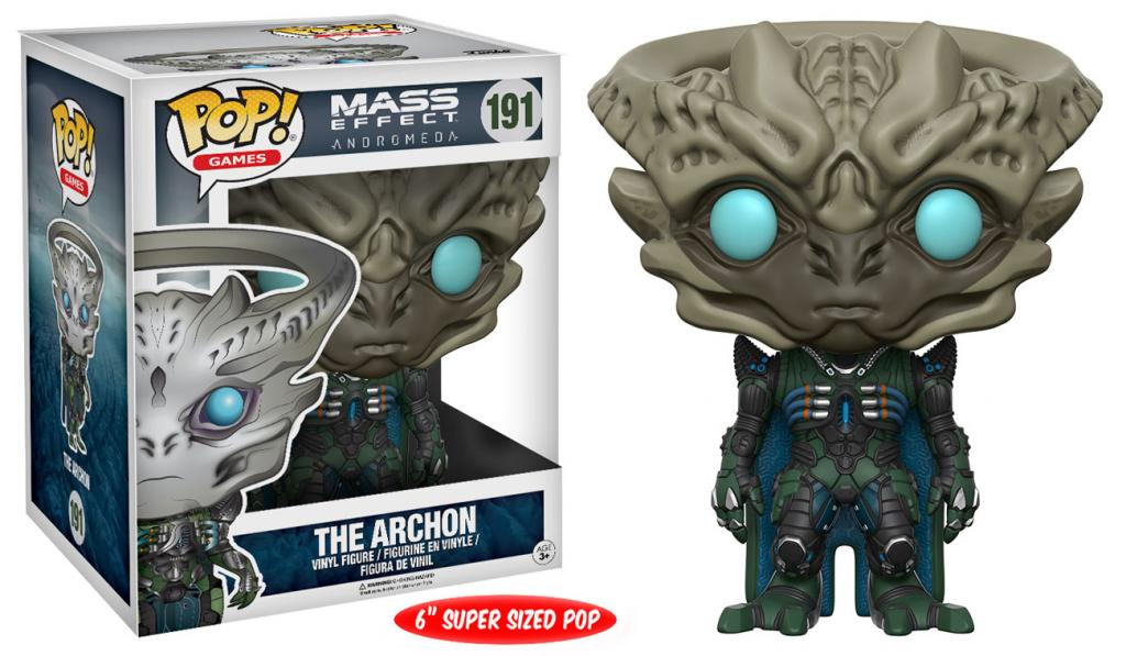 MASS EFFECT ANDROMEDA - Bobble Head POP N° 191 - Archon OVERSIZE