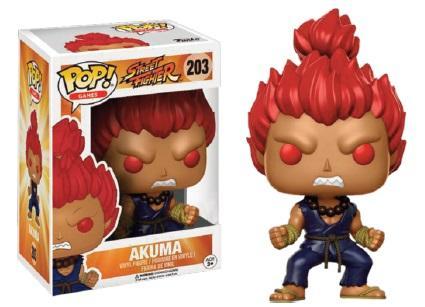 STREET FIGHTER - Bobble Head POP N° 203 - Akuma LTD