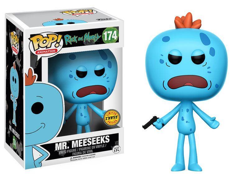RICK & MORTY - Bobble Head POP N° 174 - Mr. Meeseeks CHASE