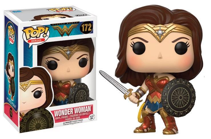 WONDER WOMAN MOVIE - Bobble Head POP N° 172 - Wonder Woman_2